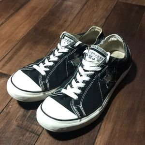Women's Converse Black One Star Sneakers
